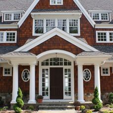 traditional exterior by Custom Home Group