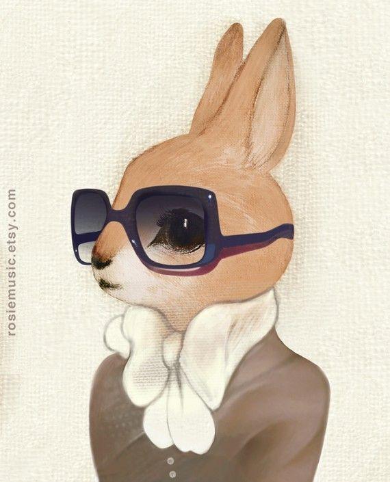 By Rosie Music on Etsy. $20 # http://www.etsy.com/listing/67750846/honey-bunny