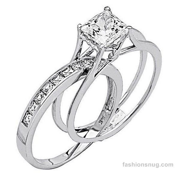 Latest Diamond Wedding Rings 2014 For Women