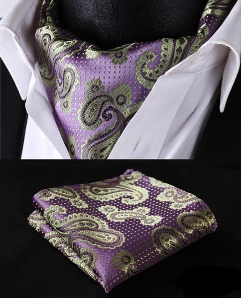 Run your Elegance 365 days a year! Elegance is a mindset Ascot Tie - Sacha - Runit365 your Elegant Men Store  #tie #trendy #silk #menfashion #menstyle