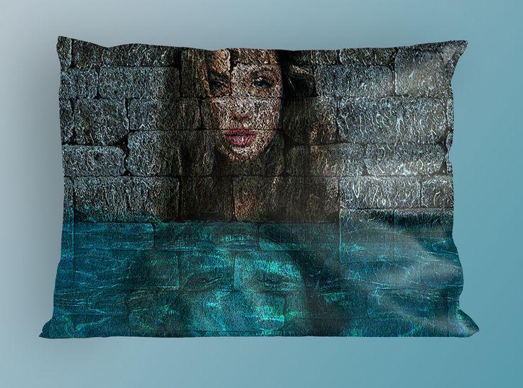 Fotomontaggio su cuscino