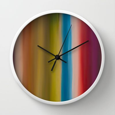 Zoom Wall Clock by Bruce Stanfield - $30.00