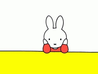 Miffy lost in thoughts...