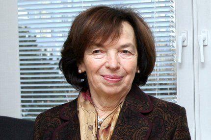 Livia Klausová, rozená Mištinová, manželka Václava Klause