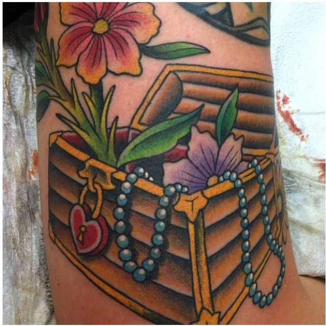 Treasure Chest Tattoo: 17 Best Images About Gotta