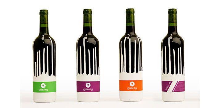 nice wine bottle design by a student: Patrick Hill, Package Design, Wine Labels, Wine Design, Packaging Design, Gravity Wine, Student Work, Wine Bottle, Bottle Design