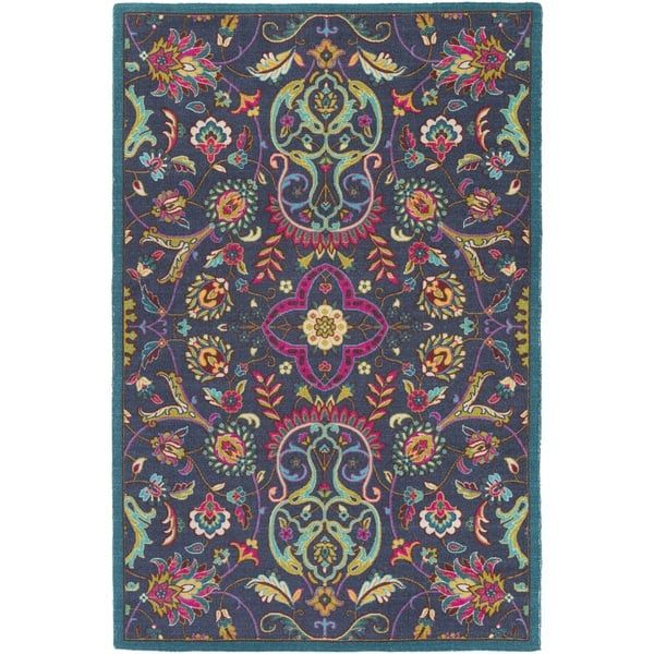 Meticulously Woven Western Nylon Rug (2' x 2'9)