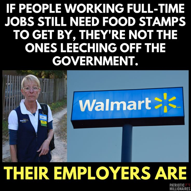 Walmart Welfare is paid for by your taxes.. They rip their employees off. they rip us all off. for their huge profits.