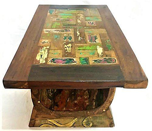 Beistelltisch Vintage aus Holz Teak massiv Möbel Ethnic Tisch Wohnzimmer Antik-TV Arte Povera Jetzt bestellen unter: https://moebel.ladendirekt.de/wohnzimmer/tische/beistelltische/?uid=2203a76b-5872-5f78-aeea-c6066129a6c4&utm_source=pinterest&utm_medium=pin&utm_campaign=boards #beistelltische #wohnzimmer #tische Bild Quelle: amazon.de