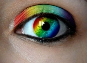 rainbow, eye, fantastic, colorful, lens, rainbow lens, girl eye by FuturisticNews.com