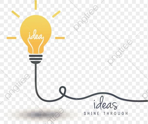 Vector Bulb Idea Bulb Clipart Thought Idea Png And Vector With Transparent Background For Free Download Bulb Vector Clip Art
