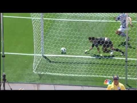 You just GOTTA see this save! Hope Solo makes a fantastic deflection to protect USA's 1-0 lead against Canada at Rio Tinto Stadium in Sandy, Utah.