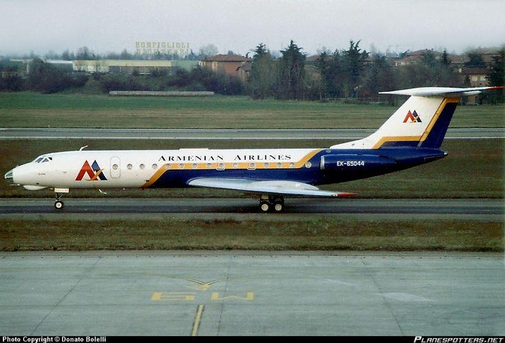 Armenian Airlines | EK-65044 Tupolev-134A-3 - October 1998