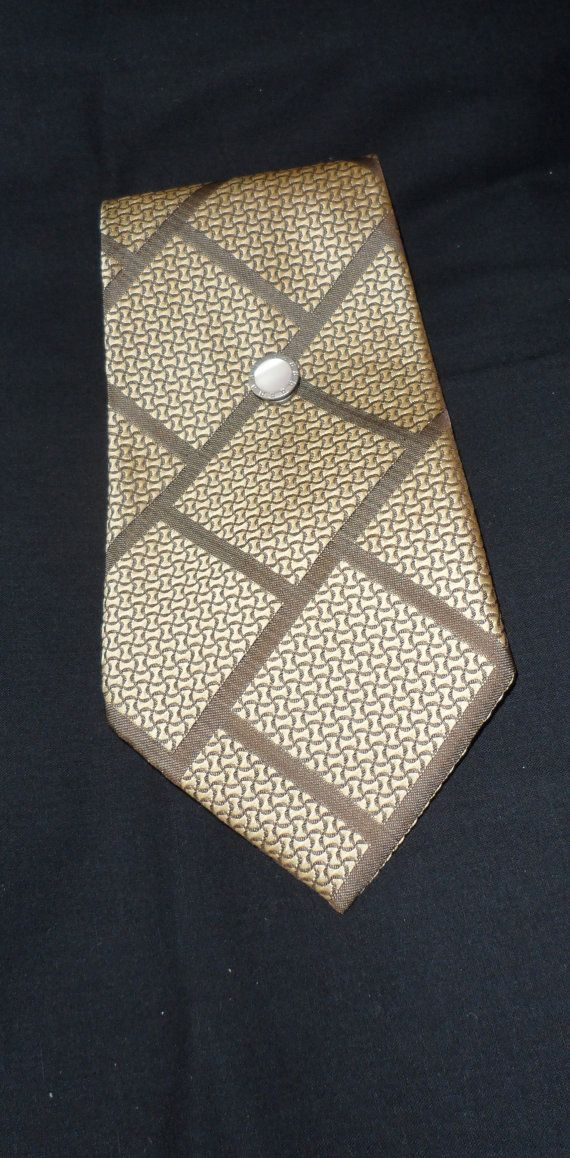 1970's Vintage Trevira Texture Tie/100 Percent by socialtyes