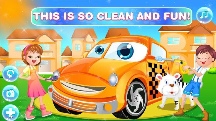 Kids Car Wash [Car Wash Games]