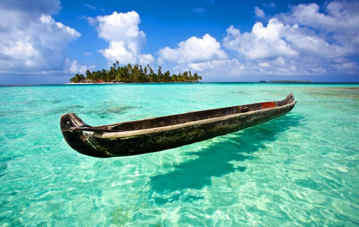 35 places to swim in the world's clearest water. Dog Island, San Blas, Panama. Another from Scott Sporleder, here is a shot from one of Panama's San Blas Islands, the largest of the politically autonomous reservations of the Kuna Indians. Photo: Scott Sporleder