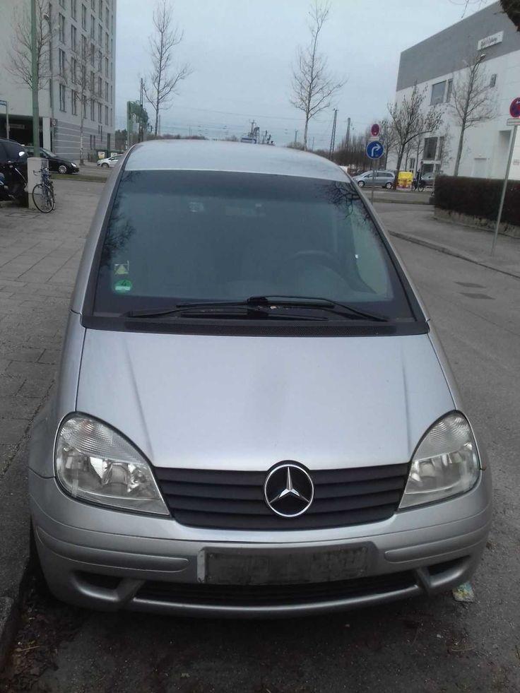 Mercedes Benz Vaneo W414 1,6l