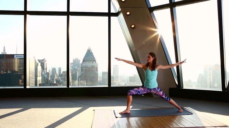 """Let it Go"" Yoga: Fitness instructor Tara Stiles demonstrates an amazingly calming yoga practice."