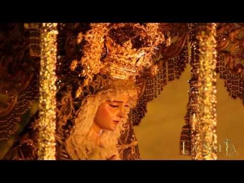 Virgen de Gracia y Esperanza por Cuesta el Bacalao. Semana Santa Sevilla 2016 - YouTube