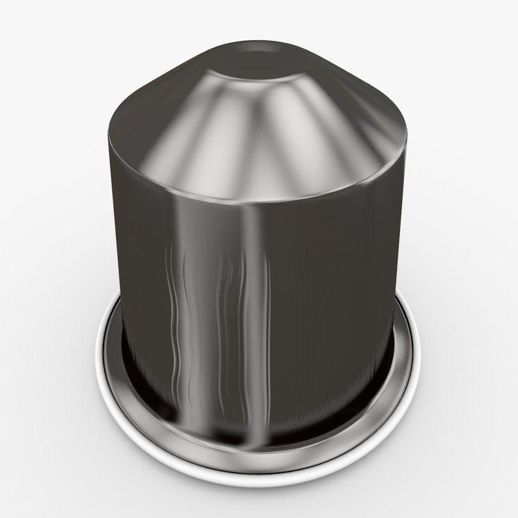 3D Model Nespresso Capsule Ristretto - 3D Model
