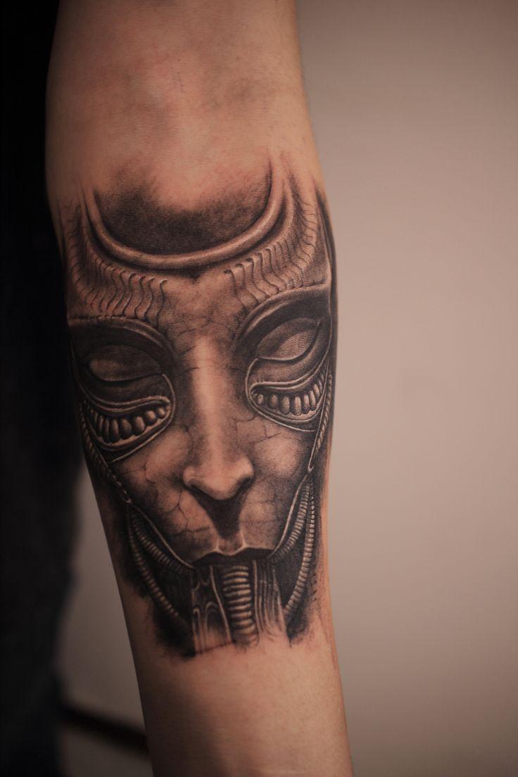 Hr giger tattoo designs - Giger Tattoo