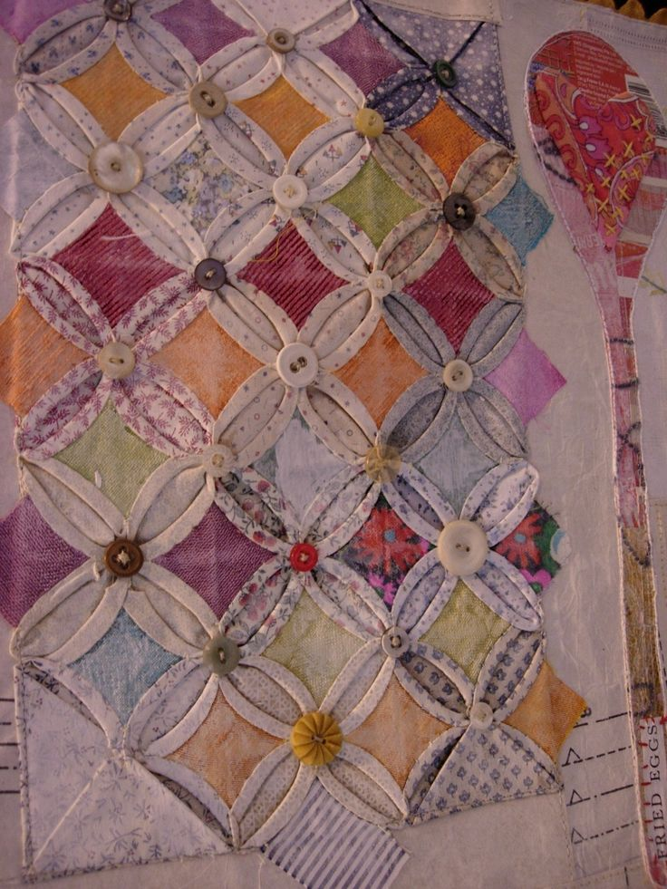 48 best images about cathedral window quilts on pinterest for Window quilt