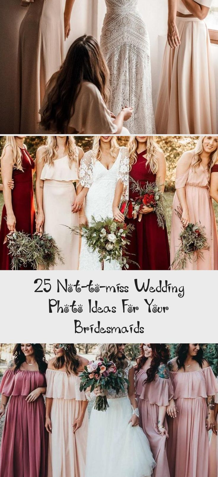 Wedding Photo Ideas For Your Bridesmaids  #wedding #weddingideas #weddingphotos #deerpearlflowers #BridesmaidDressesFall #BridesmaidDressesStyles #CheapBridesmaidDresses #BlushBridesmaidDresses #BridesmaidDressesSummer