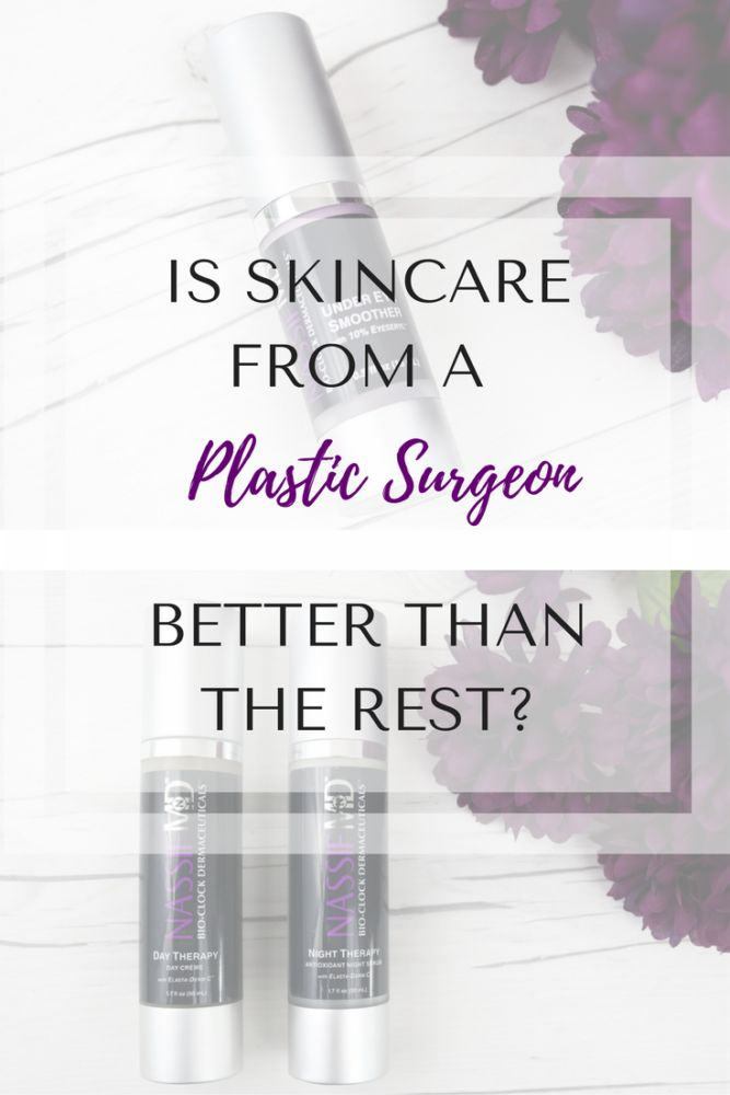 Can A Plastic Surgeon Create Superior Skincare? Beauty products the housewives love. Bravo Housewives. https://thepatranilaproject.com/nassif-md-skincare-review/