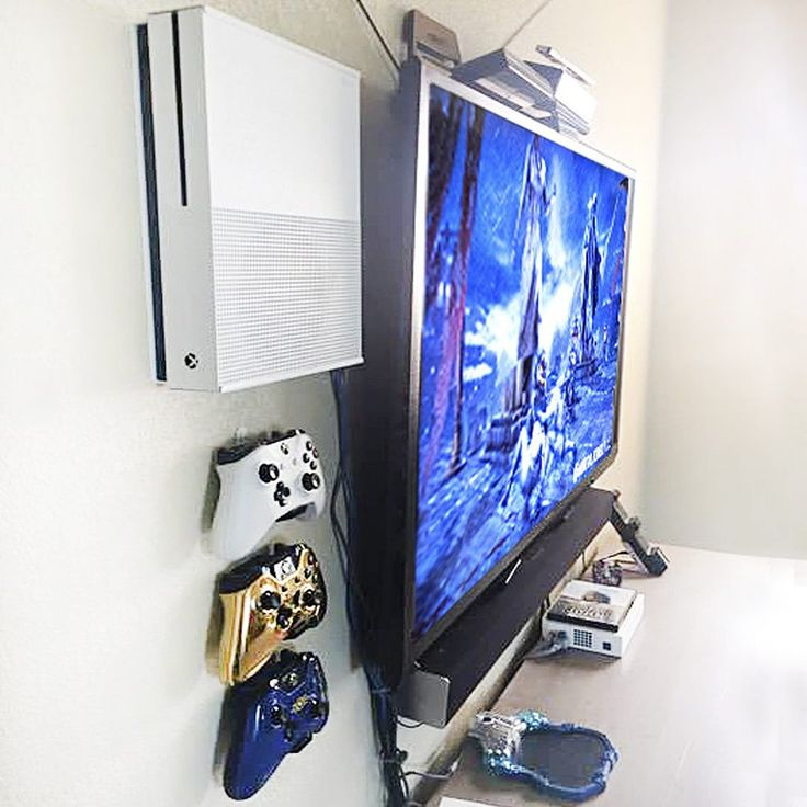 Xbox One S Wall Mount DESCRIPTION FEATURES SPECIFICATIONS The Xbox One S was made to be a vertical. So vertically wall mount your Xbox One S and display...