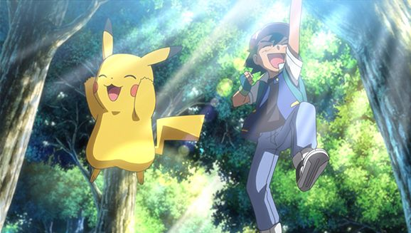 Ash and Pikachu Return for an Encore | Pokemon.com