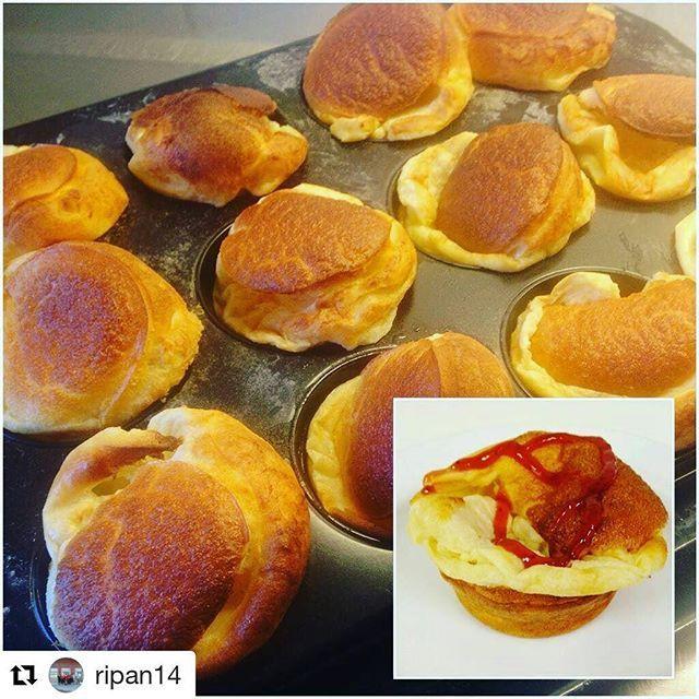 Pannkaksmuffins till helgens frukost, fika eller lunch Ugnspannkaka som gräddas i en muffinsplåt. Fluffiga och goda. Den fina bilden kommer från @ripan14 ❤ Recept hittar du i länken➡@zeinaskitchen ・・・ Pannkaksmuffin på solgårdens fsk :-) Recept från @zeinaskitchen #åstorp #kommun #centralkök #Ripan #skolmat #förskolan #gladpåjobbet #solgården