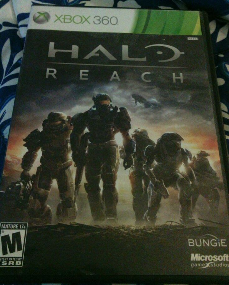 New Listing. Check out the Gaming Auction. HALO REACH - Xbox 360 - Case and disc only, no books