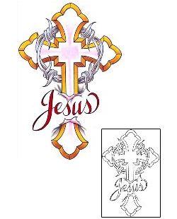 Show details for Christian Tattoo Religious & Spiritual tattoo | CCF-00698