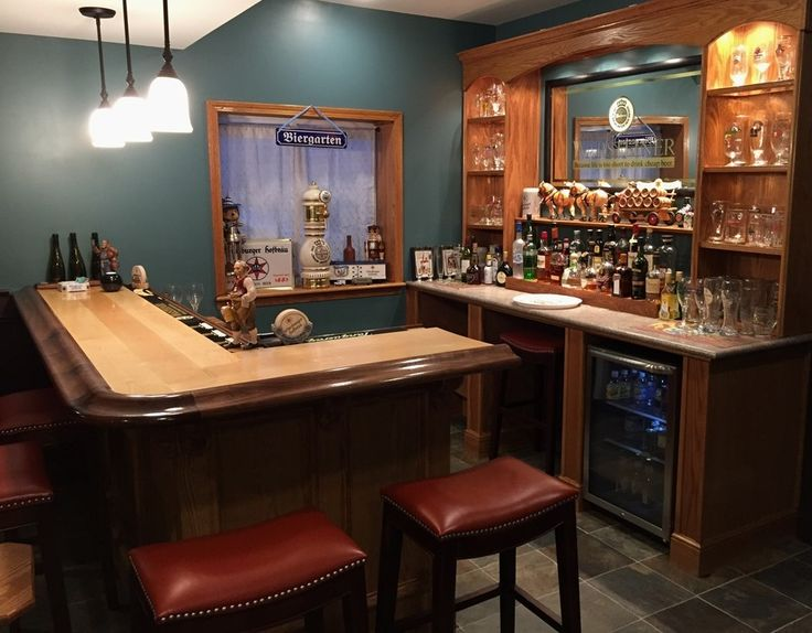 76 best Completed Bars Using Bar Rail from Hardwoods Inc. images on ...