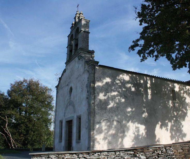 Iglesia de Calvor, Lugo, Camino de Santiago