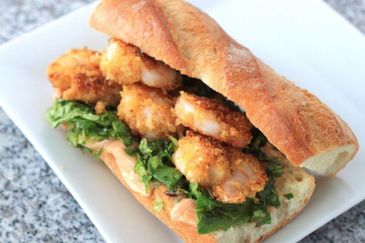 Shrimp Po'Boy (From Scratch)