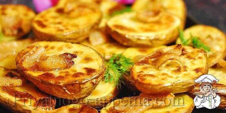 Картошка с салом духовке https://priyatnogo-appetita.com/retsepty/vtorye-blyuda/garniry/iz-ovoschei/item/3364-kartoshka-s-salom-duchovke.html  Картошка с салом духовке – очень простое и одновременно вкусное и полезное блюдо, готовится левой ногой, а получается всегда превосходно. В итоге, на столе сочная печеная картошка, к которой можно подать любое мясо и салат, а трудозатрат на такое блюдо – ноль.
