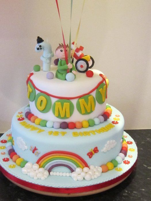 charlie and the numbers cake - by cupcakecarousel @ CakesDecor.com - cake decorating website