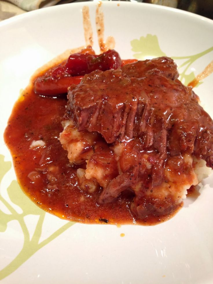 Swiss Steak. Very easy to make and great comfort meal.