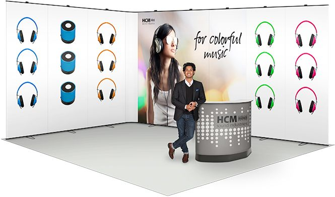 Flexible Exhibition Stands : Best corner angle trade show booth layouts images on