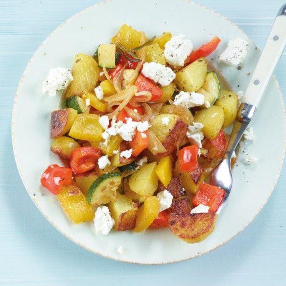 ESSEN & TRINKEN - Mediterrane Kartoffelpfanne Rezept