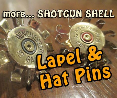 This Instructable will show with minimal tools and supplies how to make lapel and hat pins from used and reshaped shotgun shells. Jewelry for any sportsman!In contrast to my last Instructable where I focused on techniques of bonding metal to metal, here I will show a simple technique of cutting and reshaping.The most challenging part of this Instructable will be acquiring high brass shotgun shell casings. If you know a bird hunter then it will be easy.As mentioned in my last Instructable…