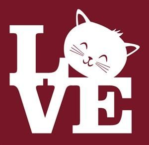 L<3VE cats. I want to make a tshirt of this!