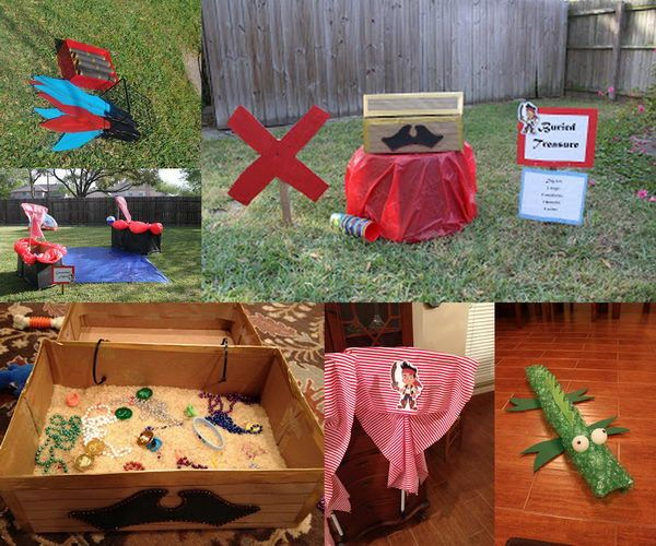 20 Jake and the Neverland Pirates Party Ideas, http://hative.com/jake-and-the-neverland-pirates-party-ideas/,