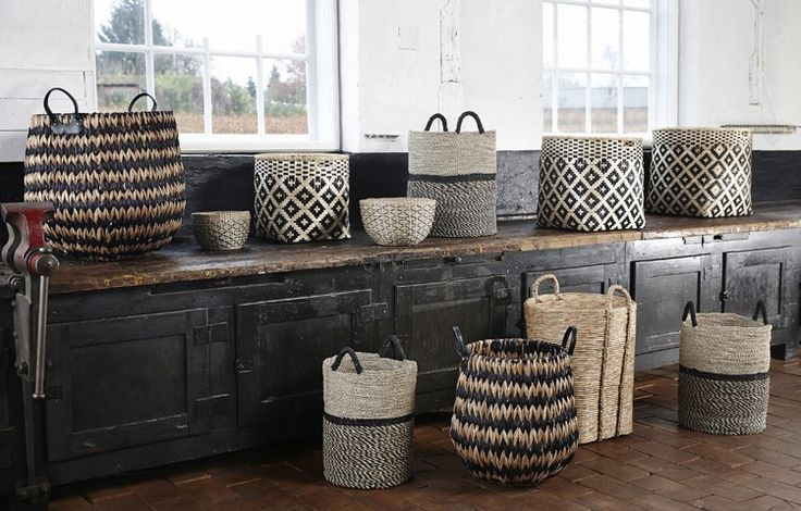 3 Design Ideas From Bohemian Modern, Bamboo Baskets Design Vintage