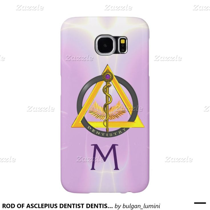 ROD OF ASCLEPIUS DENTIST DENTISTRY MONOGRAM SAMSUNG GALAXY S6 CASES