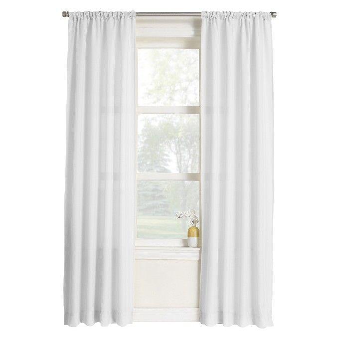 Layne Heathered Solid Curtain Panel