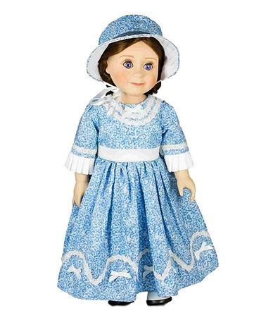 Look what I found on #zulily! Blue Sunday Dress for 18'' Doll #zulilyfinds