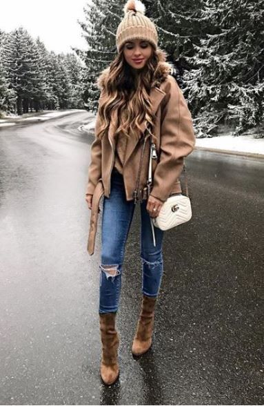 40 Winter Fashion 2018 Outfits To Copy  winterfashion2018  winter2018   winter d20342ac92f3