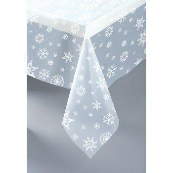 Nappe flocons crystal pour l'anniversaire de votre enfant - Annikids